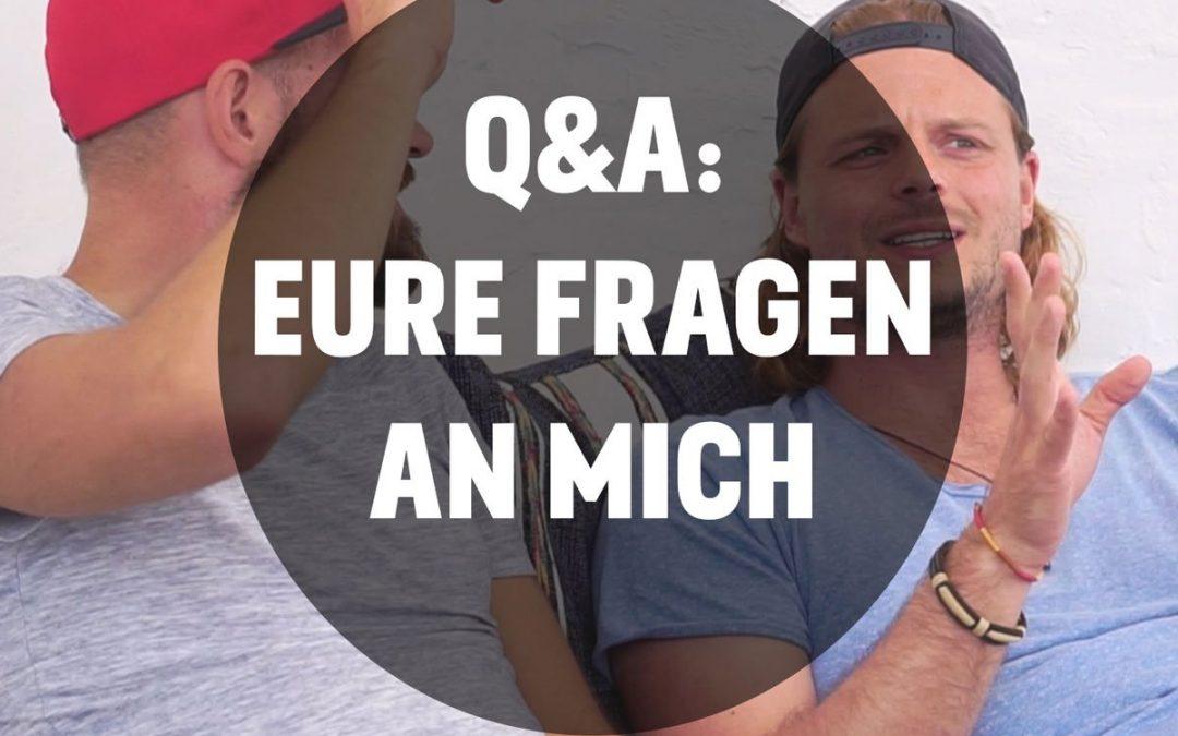 Podcast Episode #13: Q&A: Eure Fragen an mich