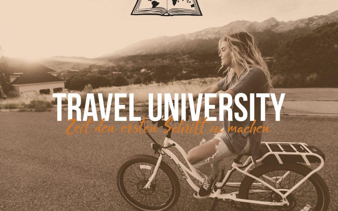 Podcast Episode #79: Travel Uni